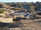 Camping à Joshua Tree park